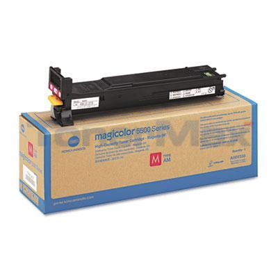 KONICA MINOLTA MAGICOLOR 5550 120V TONER MAGENTA 12K